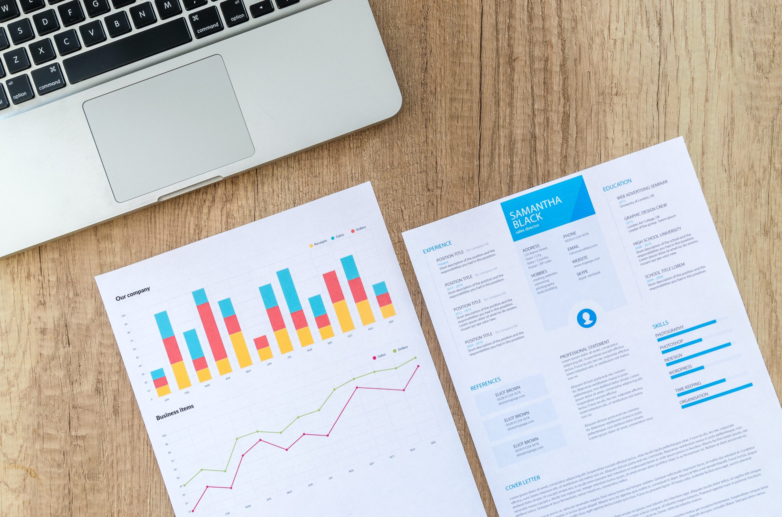 Cv voor strategy consulting + template